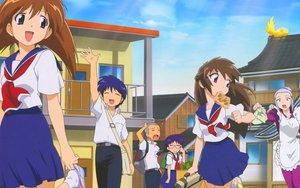 Rating: Safe Score: 11 Tags: iizuka_kazuto maruo_masaki nanase_kanaka nanase_narue narue_no_sekai school_uniform tagme yagi_hajime User: rargy