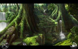 Rating: Safe Score: 151 Tags: forest matsura_ichirou nobody scenic touhou tree water waterfall watermark User: opai