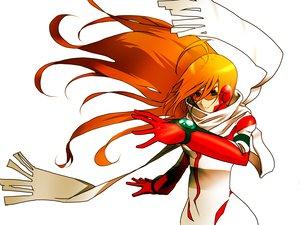 Rating: Safe Score: 30 Tags: diebuster goggles idsuru nono orange_hair scarf User: PAIIS