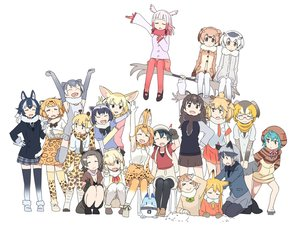 Rating: Safe Score: 46 Tags: american_beaver_(kemono_friends) animal_ears anthropomorphism black-tailed_prairie_dog_(kemono_friends) campo_flicker_(kemono_friends) catgirl common_raccoon_(kemono_friends) crested_ibis_(kemono_friends) eurasian_eagle-owl_(kemono_friends) fennec_(kemono_friends) foxgirl gray_wolf_(kemono_friends) group jaguar_(kemono_friends) kaban kasa_list kemono_friends lion_(kemono_friends) lucky_beast_(kemono_friends) moose_(kemono_friends) northern_white-faced_owl_(kemono_friends) oriental_small-clawed_otter_(kemono_friends) red_fox_(kemono_friends) reticulated_giraffe_(kemono_friends) serval silver_fox_(kemono_friends) suri_alpaca_(kemono_friends) tsuchinoko wolfgirl User: otaku_emmy