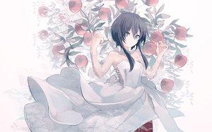 Rating: Safe Score: 60 Tags: apple dress food fruit miyanoyori original User: FormX
