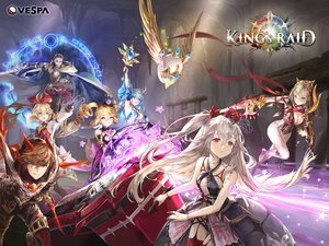 Rating: Safe Score: 26 Tags: armor blonde_hair blue_eyes blue_hair bow breasts brown_hair cape cleavage dress gloves green_eyes group king's_raid logo long_hair magic male purple_eyes red_eyes scarf short_hair sword tagme_(artist) tagme_(character) thighhighs twintails weapon User: BattlequeenYume