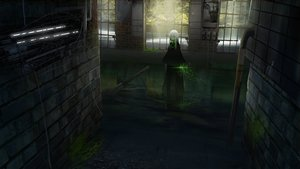 Rating: Safe Score: 102 Tags: asuteroid dark green_eyes iz_(asuteroid) long_hair magic original ruins scenic water weapon white_hair User: RyuZU