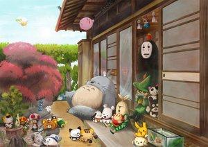 Rating: Safe Score: 164 Tags: aria aria_pokoteng crossover dragon_quest hibiki_ryouga hyco jiji_(character) kirby kirby_(character) kodama majo_no_takkyuubin nichijou nintendo pikachu pokemon putin ranma½ sakamoto_(nichijou) sen_to_chihiro_no_kamikakushi super_smash_bros. toad tonari_no_totoro totoro usavich waddle_dee User: HawthorneKitty