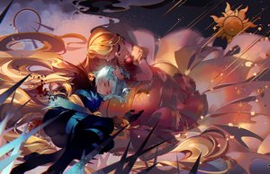 Rating: Safe Score: 38 Tags: 2girls cassandra_(tangled) kawacy rapunzel_(disney) tangled User: sadodere-chan