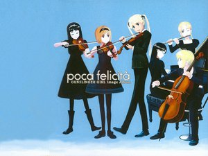 Rating: Safe Score: 3 Tags: angelica claes elsa flute gunslinger_girl henrietta instrument piano rico triela violin User: Oyashiro-sama