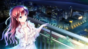 Rating: Safe Score: 39 Tags: blue_eyes brown_hair building city dress ensemble_(company) game_cg koi_wa_sotto_saku_hana_no_you_ni kotoishi_iori long_hair necklace night scenic tagme_(artist) User: FormX