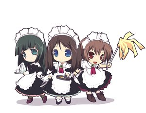 Rating: Safe Score: 8 Tags: chibi maid murakami_suigun white User: Oyashiro-sama