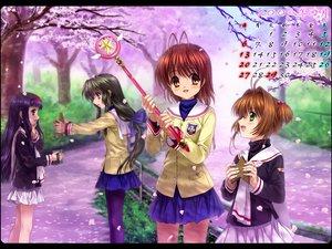 Rating: Safe Score: 27 Tags: calendar card_captor_sakura cherry_blossoms clannad crossover daidouji_tomoyo flowers furukawa_nagisa ibuki_fuuko kinomoto_sakura User: 秀悟