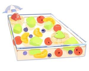 Rating: Safe Score: 13 Tags: animal bird chai_(artist) cherry food fruit nobody orange_(fruit) original polychromatic pool signed strawberry umbrella white User: otaku_emmy