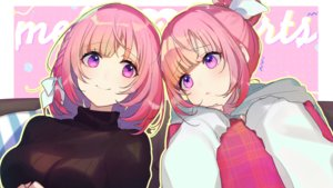 Rating: Safe Score: 46 Tags: aliasing amaki_okome amaki_okome_channel hassan_(sink916) hoodie pink_hair purple_eyes User: FormX