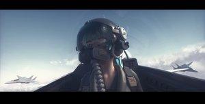 Rating: Safe Score: 84 Tags: 3d aircraft bangeningmeng close clouds mask original sky User: Dreista