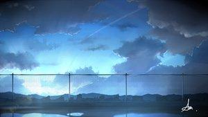 Rating: Safe Score: 50 Tags: alpcmas building city clouds nobody original rooftop scenic signed sky User: otaku_emmy