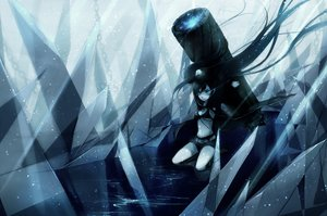 Rating: Safe Score: 38 Tags: black_rock_shooter gun kuroi_mato weapon User: HawthorneKitty