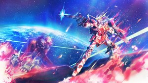 Rating: Safe Score: 75 Tags: blue earth fire gun mecha mobile_suit_gundam mobile_suit_gundam_unicorn pink planet robot rx-0_unicorn_gundam space stars weapon User: Red_Eclipse
