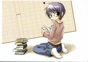 Rating: Safe Score: 5 Tags: hidamari_sketch sae ume_aoki User: Oyashiro-sama
