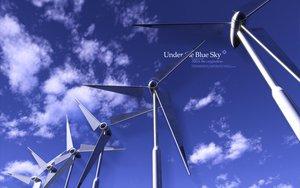 Rating: Safe Score: 19 Tags: aria sky windmill User: pantu
