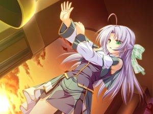 Rating: Safe Score: 19 Tags: alicia_infans bow game_cg long_hair magus_tale purple_hair tenmaso whirlpool User: Oyashiro-sama