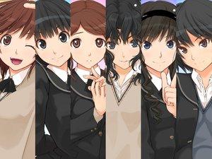 Rating: Safe Score: 183 Tags: amagami ayatsuji_tsukasa brown_hair group morishima_haruka nakata_sae nanasaki_ai sakurai_rihoko school_uniform takayama_kisai tanamachi_kaoru User: pantu