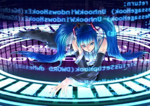 Rating: Safe Score: 22 Tags: hatsune_miku twintails vocaloid User: HawthorneKitty