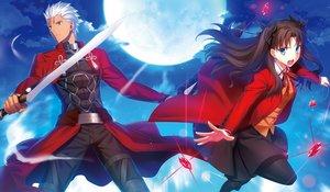 Rating: Safe Score: 44 Tags: archer fate_(series) fate/stay_night fuyuki_(neigedhiver) male tohsaka_rin User: mattiasc02