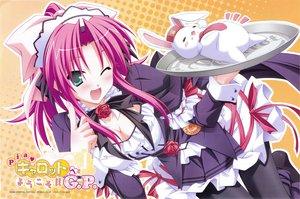 Rating: Safe Score: 40 Tags: blush breasts cleavage hinata_mutsuki pia_carrot sato_hina waitress User: 秀悟