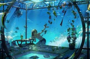 Rating: Safe Score: 431 Tags: animal dotaku fan fish flowers food original scenic shorts water User: opai