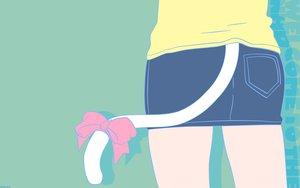 Rating: Safe Score: 32 Tags: catgirl green nakahara_misaki nhk_ni_youkoso tail User: Oyashiro-sama