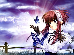 Rating: Safe Score: 18 Tags: butterfly minakami_chikage sister_princess tenhiro_naoto User: Oyashiro-sama
