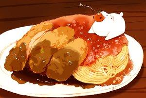Rating: Safe Score: 26 Tags: animal bear bird chai_(artist) food nobody original polychromatic signed User: otaku_emmy
