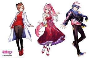 Rating: Safe Score: 37 Tags: animal_ears black_eyes blue_eyes blue_hair bow brown_hair dress hat headband kaito logo long_hair male megurine_luka meiko mika_pikazo necklace pantyhose pink_hair ponytail red_eyes ribbons scarf short_hair vocaloid watermark white User: otaku_emmy