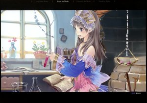 Rating: Safe Score: 38 Tags: atelier atelier_rorona atelier_totori kishida_mel scan totooria_helmold User: birdy73