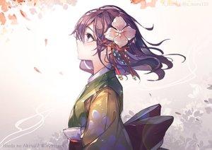 Rating: Safe Score: 46 Tags: hieda_no_akyuu leaves purple_hair touhou unity_(ekvmsp02) User: FormX