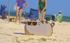Rating: Safe Score: 98 Tags: animal cat original pusheen snatti sunglasses User: mattiasc02