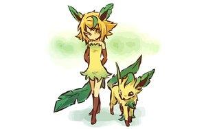 Rating: Safe Score: 91 Tags: hitec leafeon moemon pokemon User: 秀悟