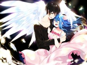 Rating: Safe Score: 6 Tags: aoiken blue_hair long_hair male User: luckyluna