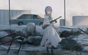 Rating: Safe Score: 108 Tags: blood boots building car chihuri405 city gloves gun headband original snow water weapon winter User: luckyluna