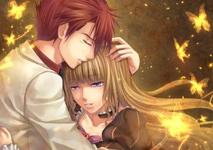 Rating: Safe Score: 24 Tags: beatrice butterfly chobipero male umineko_no_naku_koro_ni ushiromiya_battler User: HawthorneKitty
