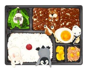 Rating: Safe Score: 6 Tags: animal bird dog food lilac_(pfeasy) nobody original penguin rabbit waifu2x User: otaku_emmy