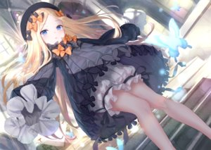 Rating: Safe Score: 93 Tags: abigail_williams_(fate/grand_order) blonde_hair bloomers blue_eyes bow butterfly dress fate/grand_order fate_(series) hat kachayori long_hair stairs User: BattlequeenYume