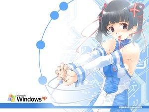 Rating: Safe Score: 12 Tags: anthropomorphism os-tan windows xp User: Oyashiro-sama