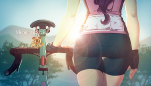 Rating: Safe Score: 56 Tags: ass bicycle bike_shorts doubutsu_no_mori gloves original shorts tienao User: gnarf1975