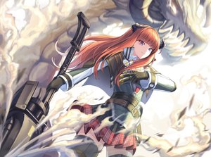Rating: Safe Score: 29 Tags: arknights bagpipe_(arknights) cow-ring gloves horns long_hair orange_hair purple_eyes thighhighs weapon User: Nepcoheart
