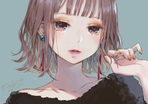 Rating: Safe Score: 56 Tags: blue brown_eyes brown_hair close lma original short_hair signed User: otaku_emmy