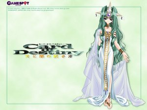 Rating: Safe Score: 3 Tags: barefoot card_of_destiny collar dress gray_eyes gray_hair headdress long_hair white User: Oyashiro-sama