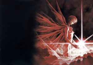 Rating: Safe Score: 44 Tags: ayanami_rei neon_genesis_evangelion wings User: Oyashiro-sama