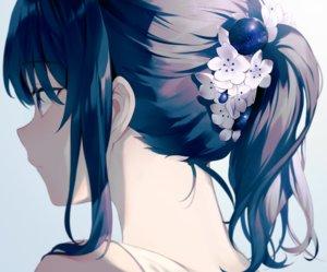 Rating: Safe Score: 125 Tags: achiki close cropped flowers gradient original polychromatic ponytail stars User: otaku_emmy