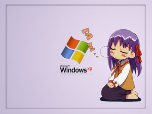 Rating: Safe Score: 1 Tags: chibi fate_(series) fate/stay_night matou_sakura sleeping windows xp User: Oyashiro-sama