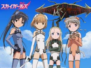 Rating: Safe Score: 21 Tags: elise_von_dietrich ichijo_eika sakurano_otoha sky_girls sonomiya_karen sword weapon User: 秀悟