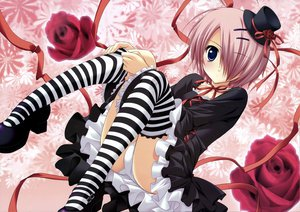 Rating: Safe Score: 87 Tags: akane_iro_ni_somaru_saka gothic panties ryohka shiraishi_nagomi underwear User: 秀悟